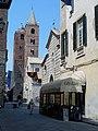 Albenga - Kathedrale San Michele Arcangelo und Santa Maria in Fontibus, August 2019.jpg