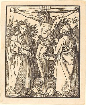 Christ on the Cross with the Virgin and St John