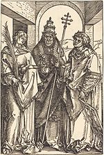 Albrecht Dürer - Saints Stephen, Sixtus and Lawrence (NGA 1951.13.6).jpg