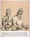 Albrecht II., dt. König (1397-1439) mit seiner Gemahlin.jpg