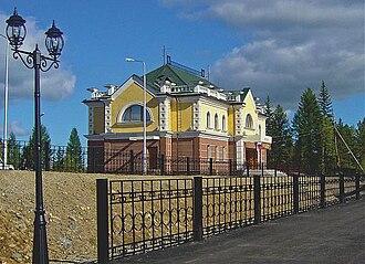 Aldan, Russia - Aldan railway station
