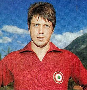 Aldo Agroppi - Agroppi at Torino in the season 1968/69