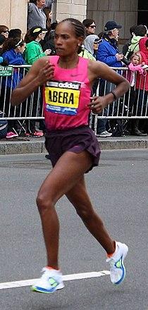 Alemitu Abera Boston Marathon 2013.jpg