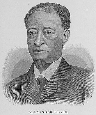 Alexander Clark - Alexander G. Clark in 1887