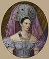 Alexandra Feodorovna in Russian dress (Imperial porcelain factory, 1840s, Hermitage).jpg