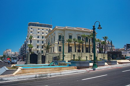The Italian consulate in Saad Zaghloul Square Alexandria - 20080720b.jpg