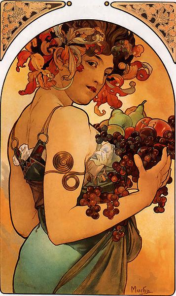 File:Alfons Mucha - Fruit.jpg