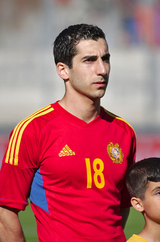 Sport in Armenia - Henrikh Mkhitaryan is currently the most prominent footballer in Armenia