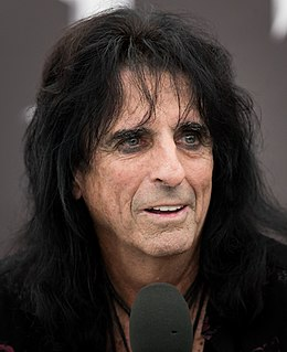 Alice Cooper American musician and actor
