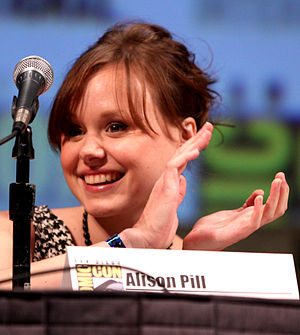 Alison Pill - Pill at the 2010 San Diego Comic-Con International