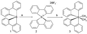 Organosulfur compounds - All-carbon persulfurane