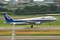 All Nippon Airways A320-211(JA8385) landing @ITM RJOO (1322743790).jpg