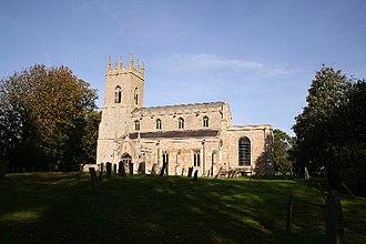 Hougham, Lincolnshire - Image: All Saints' church, Hougham, Lincs. geograph.org.uk 70515