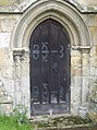 All Saints Church, Rudston - Door - geograph.org.uk - 505867.jpg