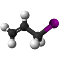 Allyl iodide3D.png