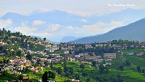 Almora - View of Almora City in 2013