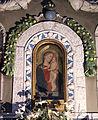 Altare del xv sec. con balaustra in pietra serena, madonna di cenni di francesco e terracotte di andrea e giovanni della robbia, 05.JPG