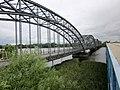 Alte Harburger Elbbrücke über die Süderelbe, Hamburg, Deutschland. Alte Harburger Elbbrücke over the South Elbe, Hamburg, Germany. - panoramio.jpg