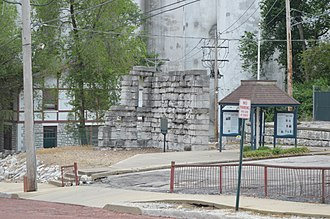 Illinois Department of Corrections - Remains of the old Illinois State Prison, the first state penitentiary in Illinois