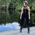 """Amelia Presley filming her music video for """"Harm Nobody Else"""".jpg"""