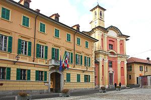 Ameno, Italy - Image: Ameno municipio