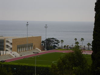 American University of Beirut - Football field at AUB lower campus