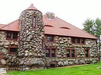 Ames Gate Lodge - Image: Ames Gate Lodge (North Easton, MA) lodge