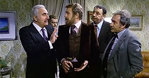 Gastone Moschin - Moschin (in the middle) in Amici miei (1975)