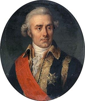 Louis Charles du Chaffault de Besné - Posthumous 1839 painting of de Besné.