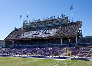 Amon G. Carter Stadium - Amon Carter Stadium prior to its demolition and reconstruction