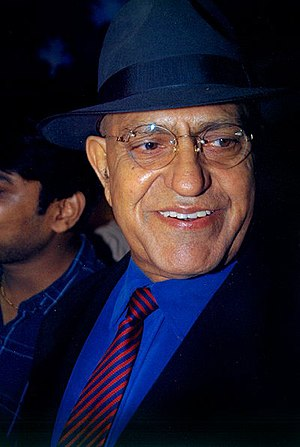 Amrish Puri - Amrish Puri at the premiere of The Hero: Love Story of a Spy