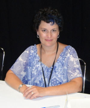 Amy Keating Rogers - Rogers at the 2012 Summer BronyCon Convention