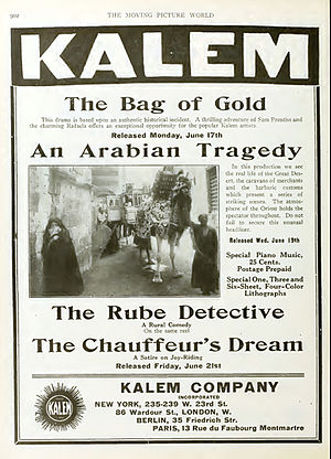 An Arabian Tragedy - Advertising published in The Moving Picture World, Vol 12, p. 902