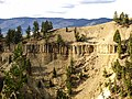 An Igneous Sill Intrusion in Yellowstone National Park Wyoming USA.jpg