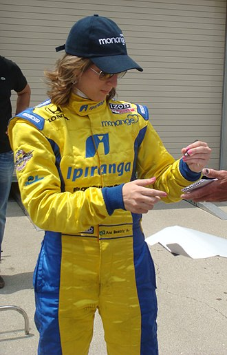 Ana Beatriz - Bia at the Indianapolis Motor Speedway in May 2010.