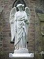 Angel, St Huberts Catholic Church, graveyard - geograph.org.uk - 1017576.jpg