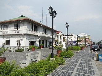 Angeles, Philippines - Santo Rosario heritage district