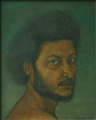 Anil Karanjai - Self Portrait, 1985