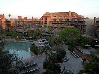 Disney's Animal Kingdom Lodge - Animal Kingdom Lodge pool