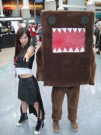 Anime Expo 2011 - Domo and friend.jpg