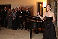 Anja-Katharina Wigger performs at the consular's private residence, 2011.jpg