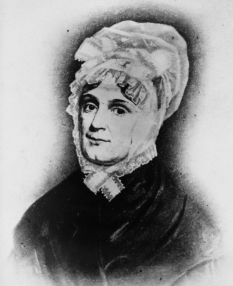 Portrait painting of Anna Harrison