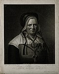 Anne Biget (soeur Marthe). Mezzotint by Cocqueret after Bige Wellcome V0000544.jpg