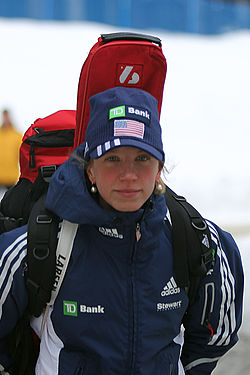 Annelies Cook in Antholz 2011