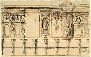 Design for a choir pew in an unknown Cistercian abbey