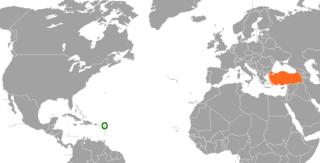Antigua and Barbuda–Turkey relations Diplomatic relations between Antigua and Barbuda and the Republic of Turkey