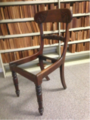 Antique chair at the Wood Reference Collection, Queensland.png