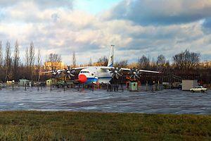 Antonov An-70 - The first An-70 prototype in November 1994