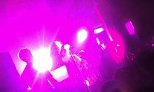 Antony performing