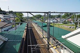 Misawa Station - Image: Aoimori Railway Misawa Station Misawa Aomori pref Japan 12n